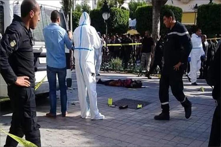 امرأة تفجر نفسها وسط العاصمة التونسية