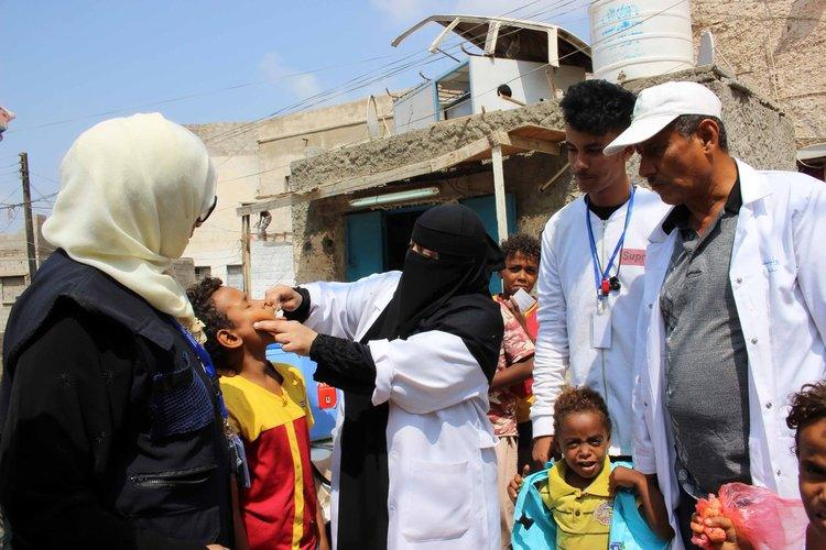 تطعيم نحو مليون طفل ضد الحصبة في أمانة العاصمة
