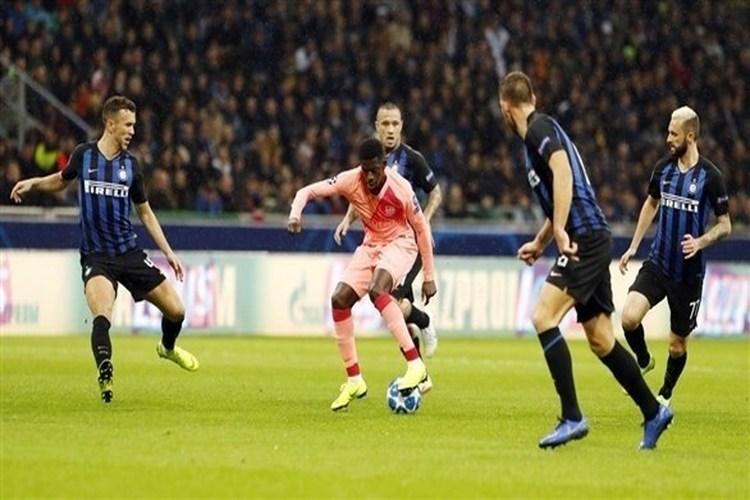 برشلونة يتعادل مع إنتر ميلان في دوري أبطال أوروبا.. فيديو