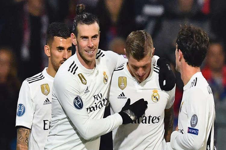 دوري أبطال أوروبا: ريال مدريد يمطر شباك فيكتوريا بلزن بخماسية نظيفة.. فيديو