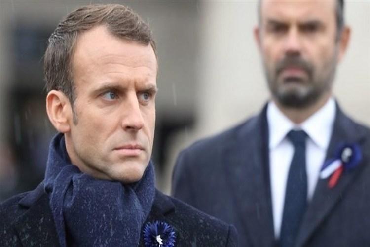 الرئيس الفرنسي ماكرون يدعو قادة العالم إلى نبذ العنف والهيمنة