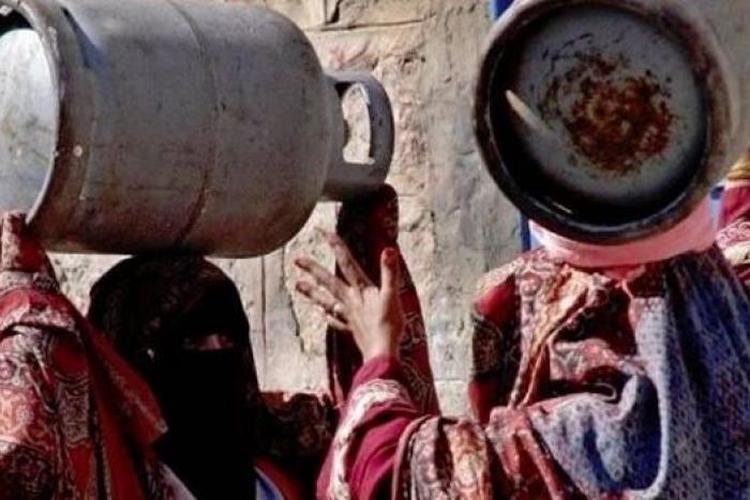 انعدام الغاز المنزلي في صنعاء