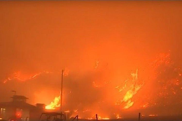 كاليفورنيا تواصل محاولاتها لاحتواء أشدّ الحرائق في تاريخها.. فيديو