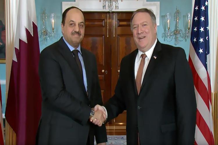 أمريكا وقطر تبحثان تشكيل تحالف الشرق الأوسط الإستراتيجي
