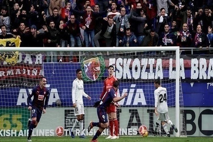 ريال مدريد يسقط أمام إيبار بثلاثية في الدوري الإسباني.. فيديو