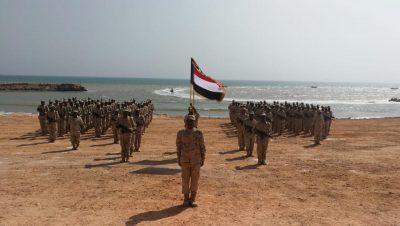 مصلحة خفر السواحل اليمنية في حضرموت تتسلم مهام تأمين الساحل
