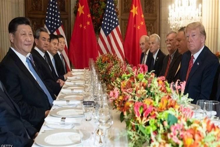 الرئيس الأمريكي دونالد ترامب، والصيني شي جينبينغ