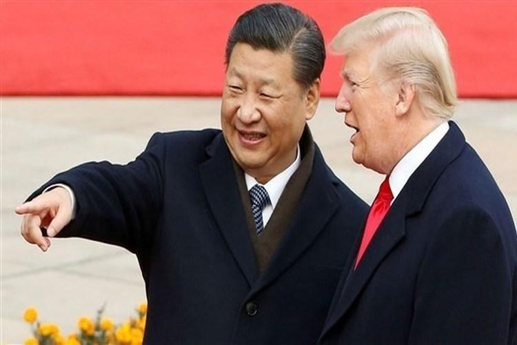 الرئيس الأمريكي ترامب يشيد بتحسن العلاقات مع الصين