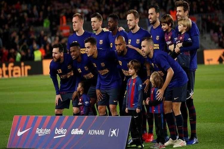 غيابات عديدة في قائمة برشلونة لمباراته اليوم في كأس ملك إسبانيا