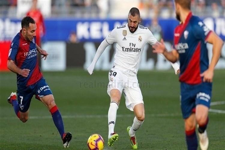 بيل يقود ريال مدريد للإفلات بثلاث نقاط من ملعب ويسكا في الدوري الإسباني.. فيديو