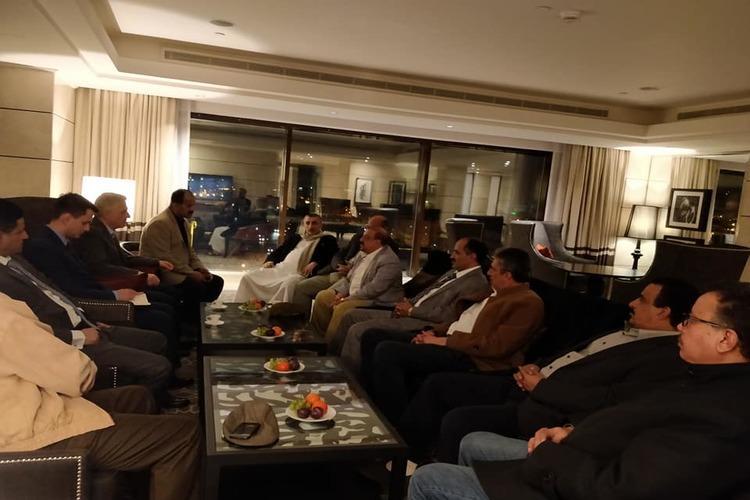 البركاني وقيادات مؤتمرية يلتقون السفير الروسي لدى اليمن