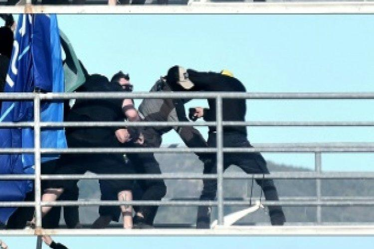 إضراب حكام الدوري اليوناني احتجاجاً لتعرض أحدهم لاعتداء
