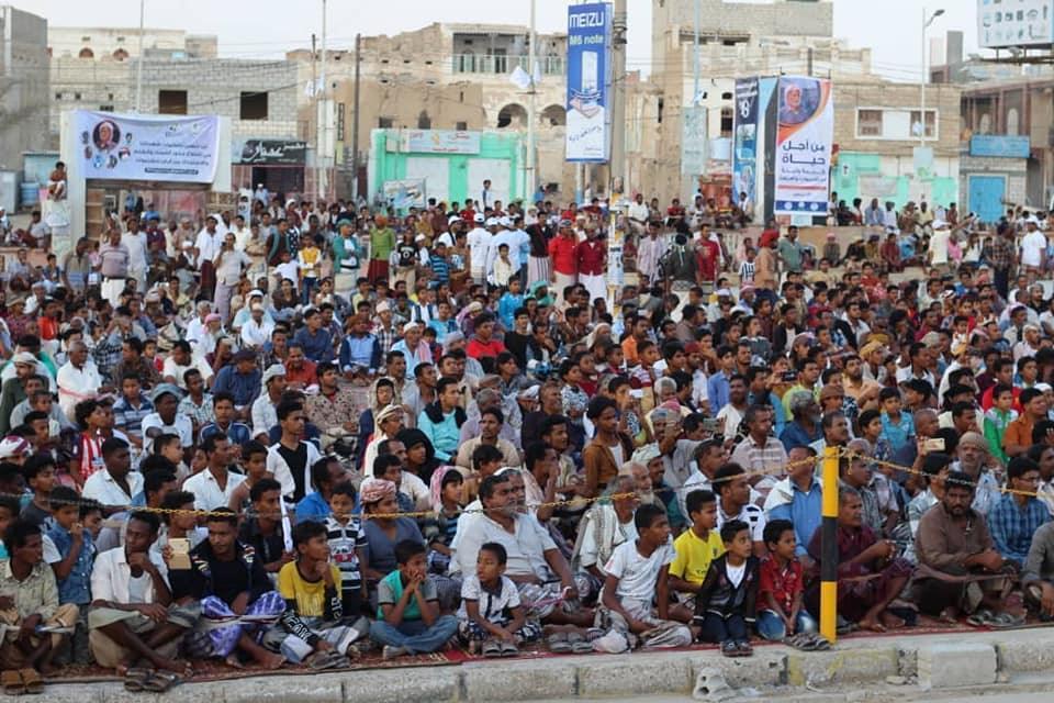 احتفائية في الشحر أحياء للذكرى الخامسة للهبة الحضرمية
