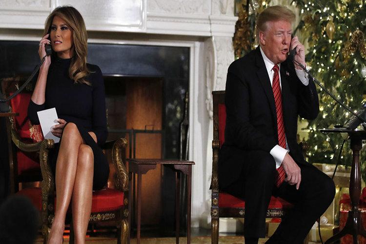 الرئيس الأمريكي ترامب يسأل طفلاً في السابعة: أما زلت تعتقد بوجود بابا نويل؟ فيديو