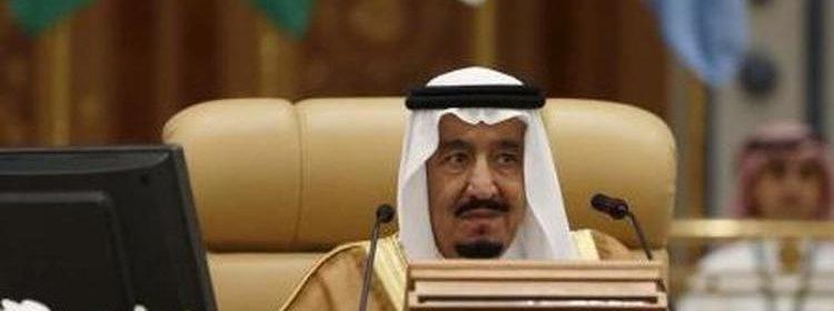 العاهل السعودي الملك سلمان في الرياض.