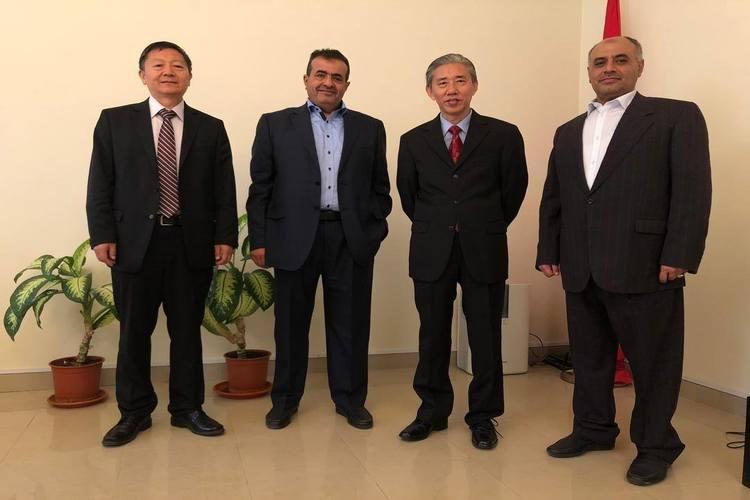 قياديان في حزب التضامن يلتقيان السفير الصيني لدى اليمن