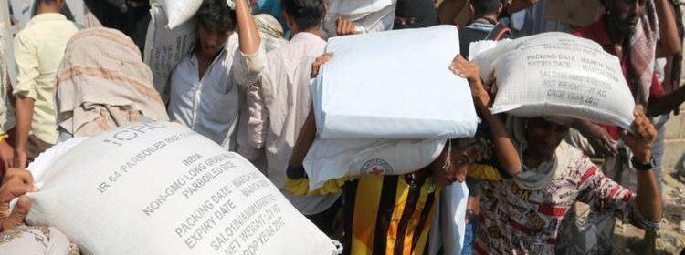 نهب المساعدات في اليمن