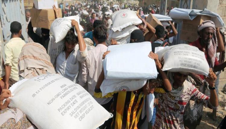 تقرير: المساعدات الإنسانية في اليمن بين سطوة الحوثي ومعاناة المجتمع