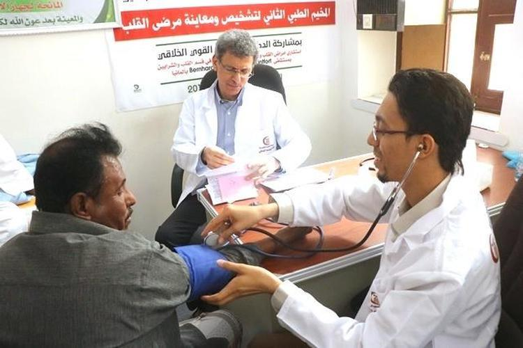 الكثيري يدعو الأطباء الحضارم بالمهجر للإسهام بخدمة حضرموت