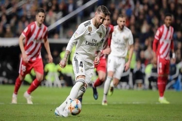 ريال مدريد يتجاوز جيرونا برباعية ويضع قدماً في نصف نهائي كأس ملك إسبانيا.. فيديو