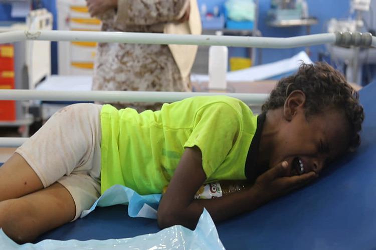 الأمم المتحدة: 8 قتلى و30 جريحاً بقصف مخيم للنازحين في حجة اليمنية