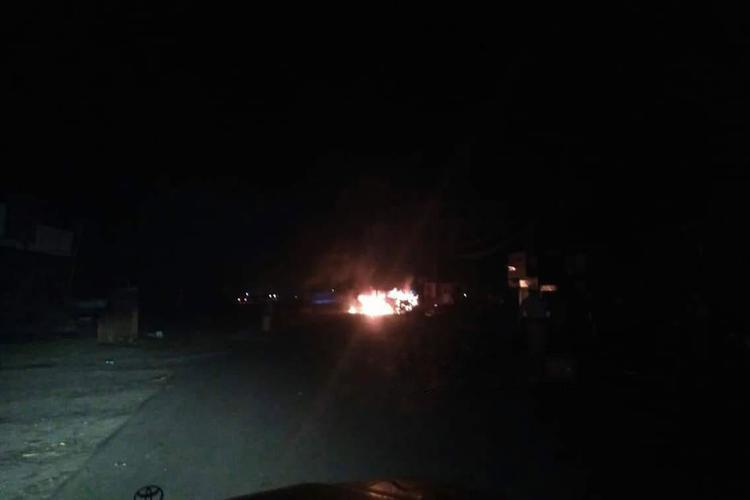 تفجير إرهابي يخلف العديد من القتلى والجرحى في مطعم بمدينة المخا