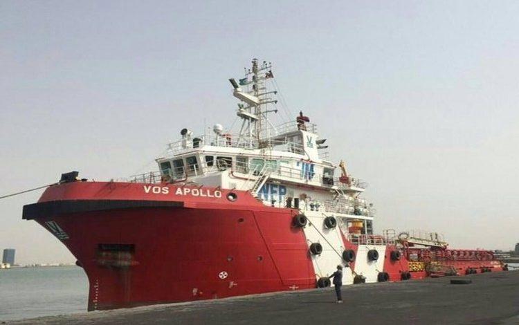 لحنة إعادة الانتشار - سفينة الأمم المتحدة في الحديدة