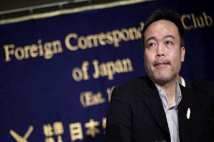 الصحافي الياباني كوسوكي تسونيوكا