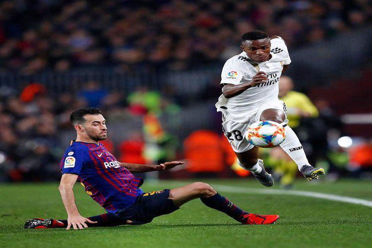 كأس إسبانيا: برشلونة يتعادل مع ريال مدريد في ذهاب نصف النهائي.. فيديو