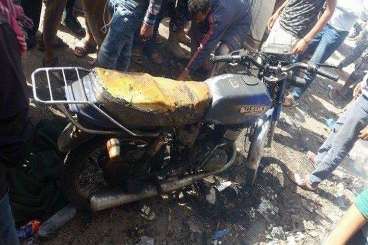مقتل مدنيين اثنين بانفجار عبوة ناسفة في تعز