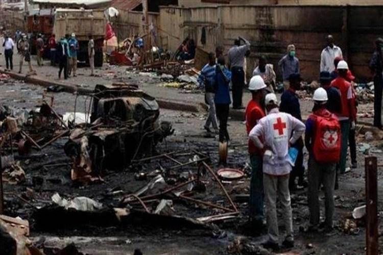 تفجير إرهابي لحركة الشباب في مخيم للنازحين شمال شرق نيجيريا.