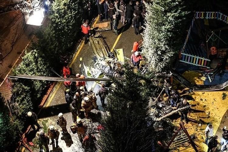 تركيا: مقتل 4 جنود في تحطم مروحية عسكرية.. فيديو