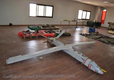 الطائرة المسيرة UAV-X التي فحصها الفريق في السعودية