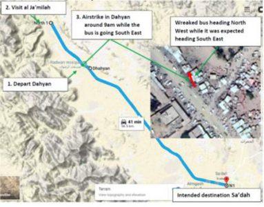 المسار وفقاً لحقوق الإنسان التابعة للحوثيين