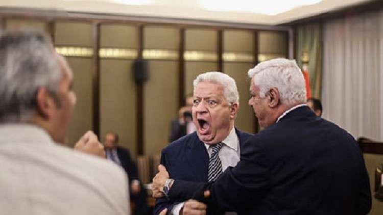الاتحاد المصري لكرة القدم يعاقب رئيس نادي الزمالك مرتضى منصور