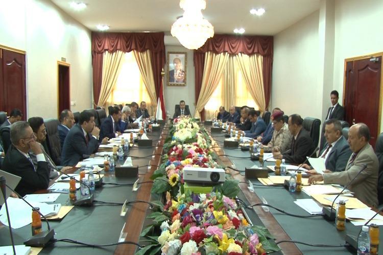 حكومة معين عبدالملك تقر الموازنة العامة للدولة للسنة المالية 2019