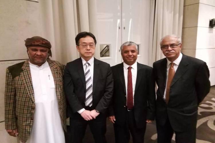 ممثلون عن مؤتمر حضرموت الجامع يلتقون مسؤولاً بمكتب المبعوث الأممي