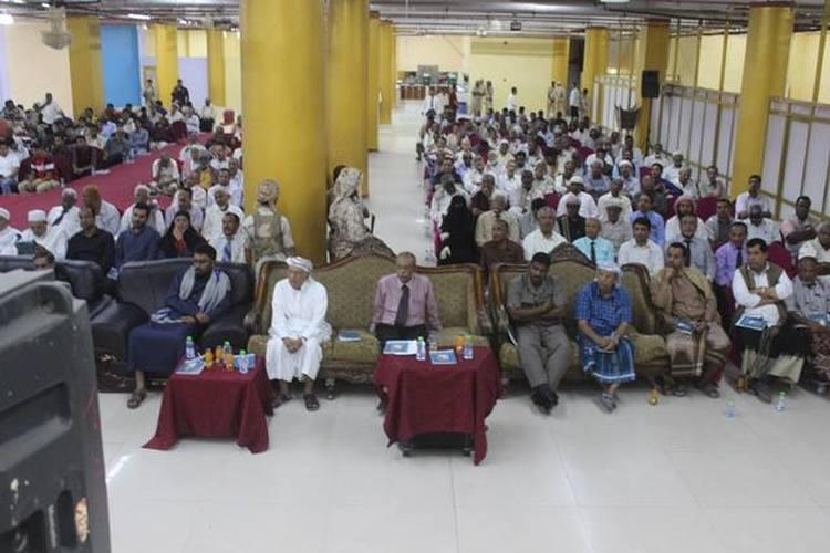 حضرموت تشهد حفلاً تأبينياً لفقيد اليمن صالح باصرة بحضور المحافظ