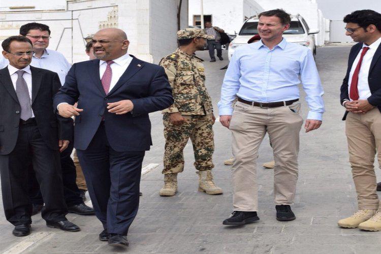 الخارجية البريطانية تكشف تفاصيل زيارة هنت إلى عدن لأول مرة منذ 1996