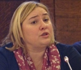 رئيسة بعثة الاتحاد الأوروبي أنطونيا كالفو-بويرتا