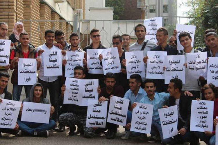 مبتعثو الجامعات اليمنية الحكومية في الصين يطالبون باعتماد مستحقاتهم