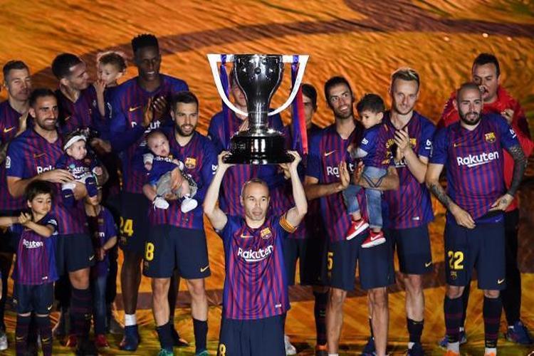 متى يحسم برشلونة لقب الدوري الإسباني رسمياً؟