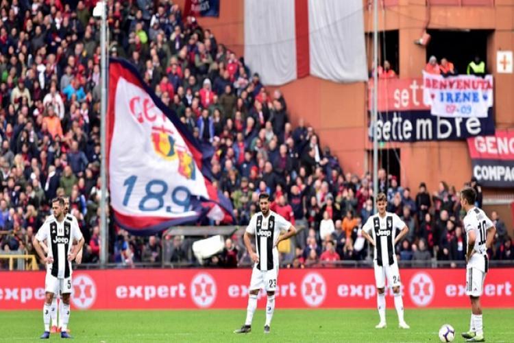 يوفنتوس يتعرض للخسارة الأولى في الدوري الإيطالي هذا الموسم.. فيديو