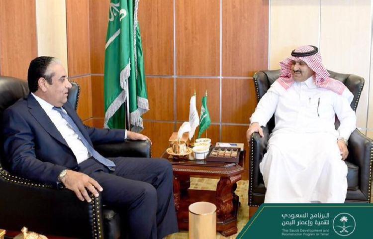 حافظ معياد يبحث دعم السعودية البنك المركزي بلقاء آل جابر