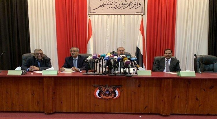 رسالة رئيس البرلمان اليمني البركاني لرؤساء البرلمانات حول مأرب