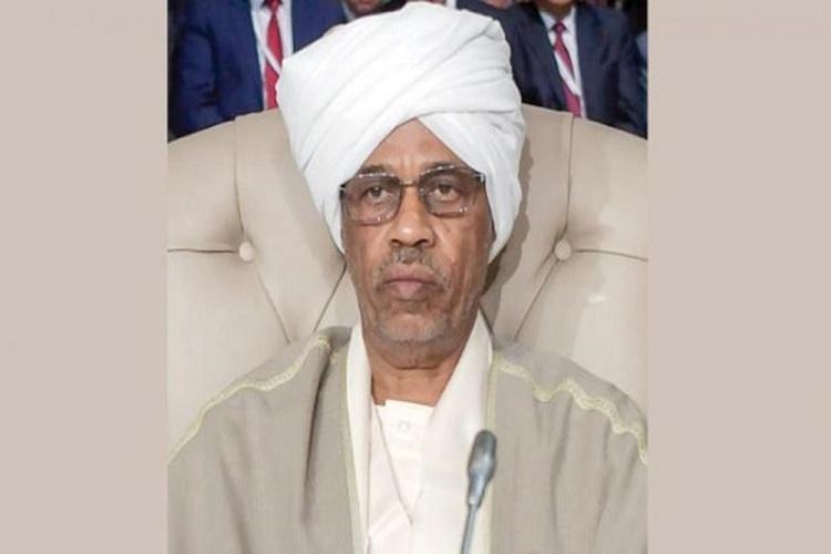 وزير الدفاع السوداني عوض محمد أحمد بن عوف