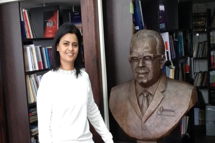 إزاحة الستار عن تمثال المفكر اليمني عبدالله باذيب في موسكو