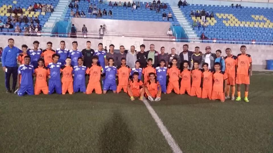 ثلاثة انتصارات في افتتاح بطولة ملتقى وحدة صنعاء الرمضاني للناشئين