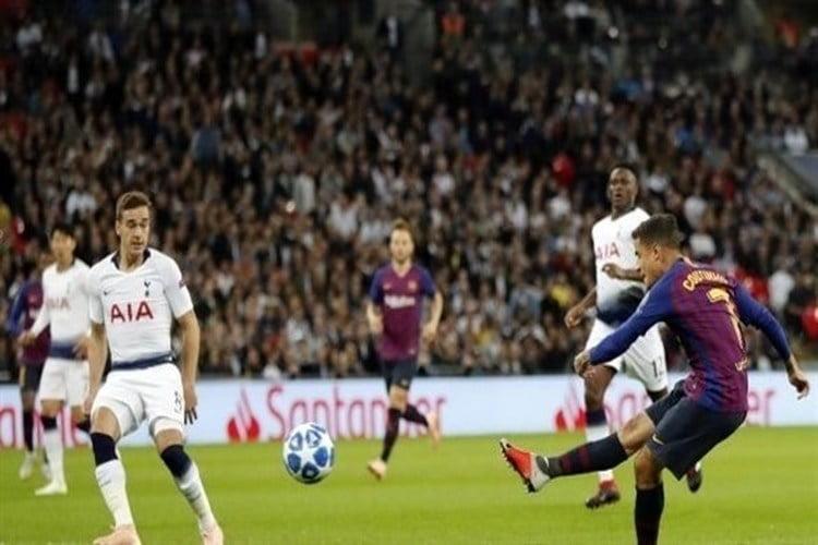 تغريم برشلونة 20 ألف يورو لفشل تنظيم مباراة توتنهام في دوري الأبطال