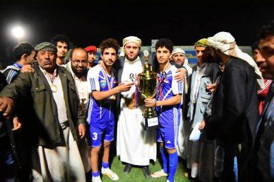 تتويج وحدة صنعاء بطلاً في بطولة كرة القدم الملتقى الرمضاني الثالث
